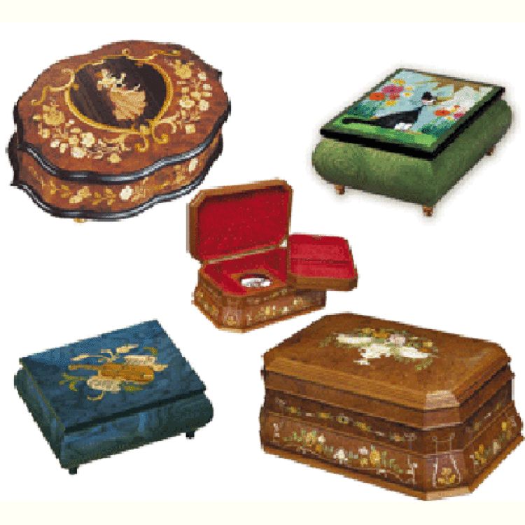 Classic Music Boxes
